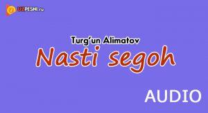 Turg'un Alimatov - Nasti segoh (2018)