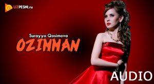 Surayyo Qosimova - Ozimman [2018]