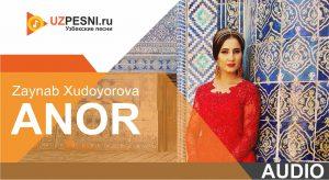 Zaynab Xudoyorova - Anor